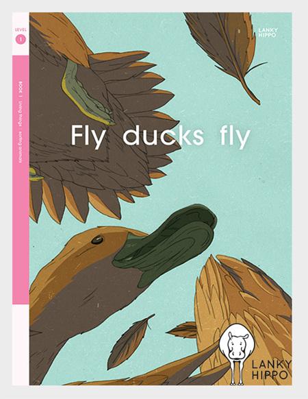 Lanky Hippo: Fly Ducks Fly