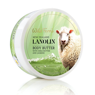 Lanolin Body Butter with Shea Butter and Jasmine