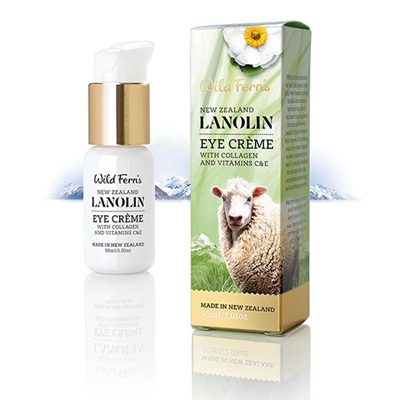 Lanolin Eye Creme with Collagen and Vitamin C & E