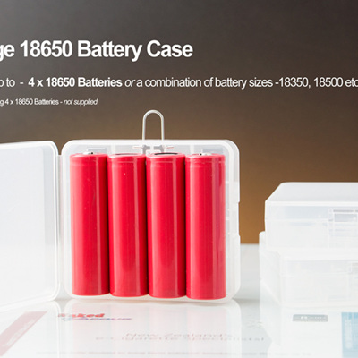 Large 18650 Battery Case