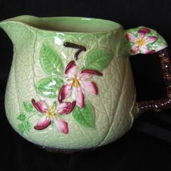 Large Apple Blossom Jug