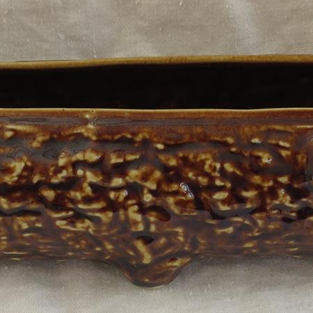 Large brown posy log
