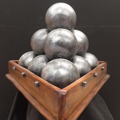 Large cannonballs