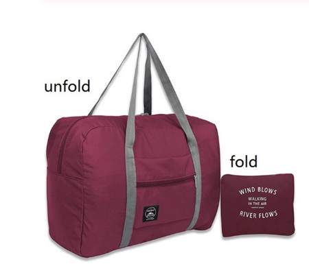 Large Capacity Luggage Carry Bag - WINE