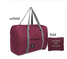 Large Capacity Luggage Carry Bag - WINE
