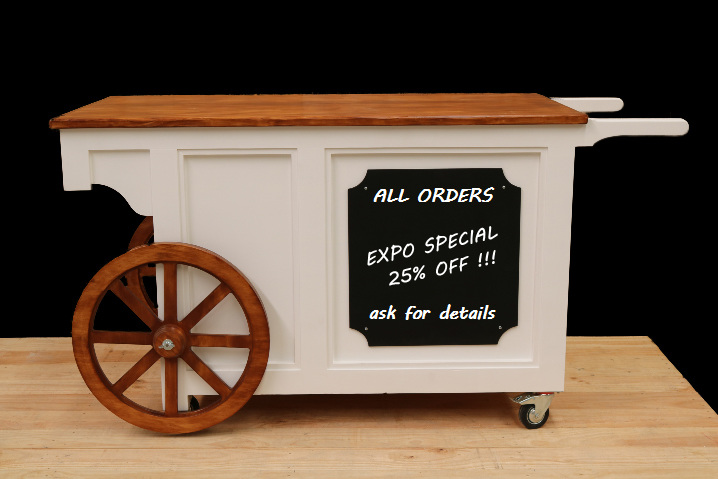 large concession cart hire