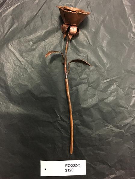 Large Copper Rose #3