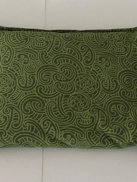 Large Cotton Wheat Bag - Green