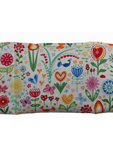 Large Cotton Wheat Bag  - Happy Garden Lemon