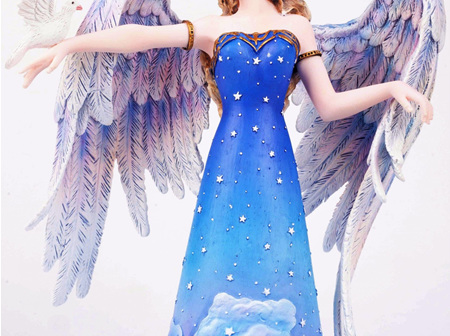 Large Fairy Changeling Angel