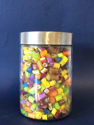 LARGE FRUIT SALAD JAR