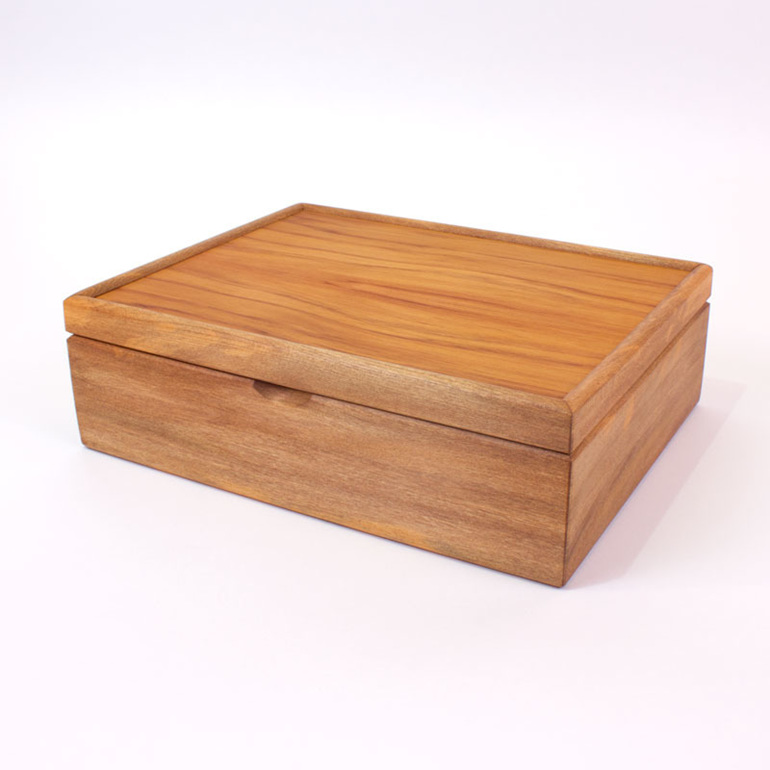 large jewellery box closed
