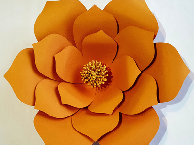 Large Lucy flower