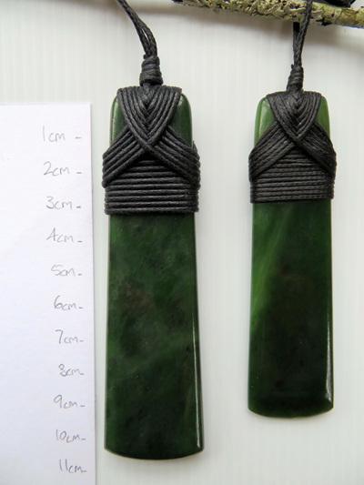 New Zealand Greenstone Toki (9.2cm) WS02