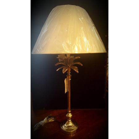 Large Palm Tree Design Lamp base and shade