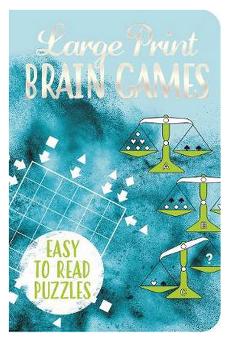 Large Print Brain Games