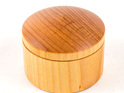 Large round box - kauri - made in new zealand