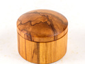 Large round box made from rimu - made in new zealand