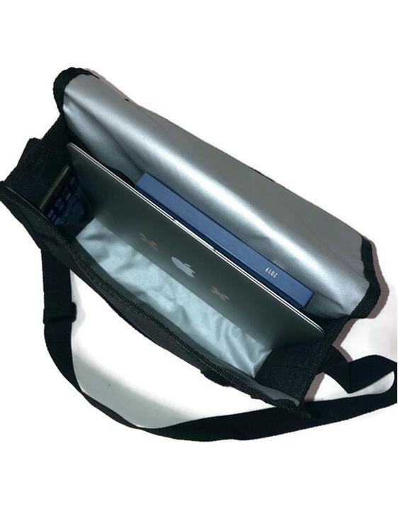 Large satchel bag suitable for a laptop