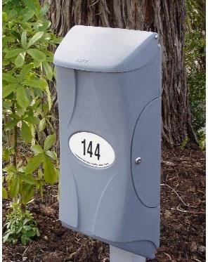Large Secure Vandal Resistant Letterbox