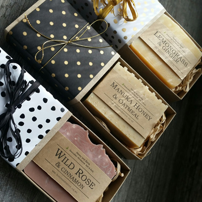 Large Single Soap Gift Box