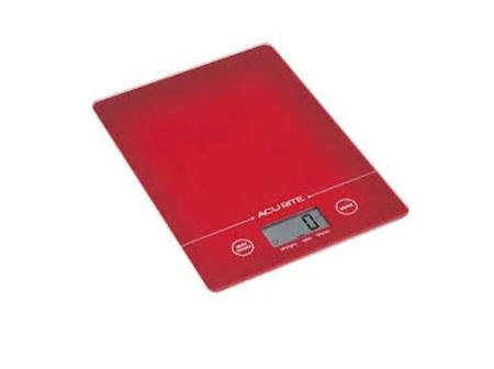Large Slim Line Digital Scale 1g-8kg - Red