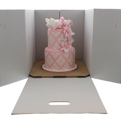 Cake Box Large Flat Pack