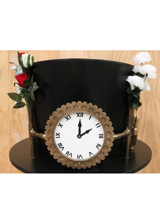 large steampunk hat hire
