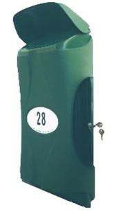 Large Vandal Resistant Letterbox