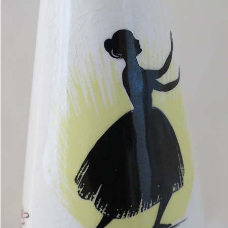 Large vase - Ballet