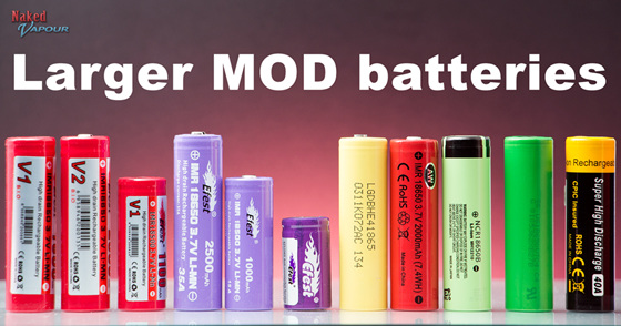 Larger MOD batteries
