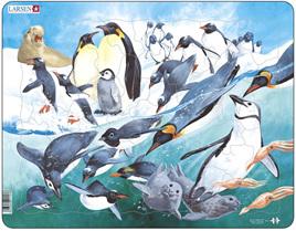 Larsen Tray Jigsaw Puzzle Antarctic