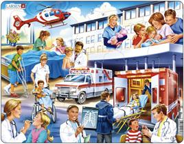 Larsen Tray Jigsaw Puzzle Hospital