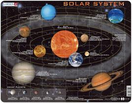 Larsen Tray Jigsaw Puzzle Solar System