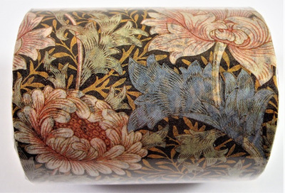 Late Vintage/Early Deco Floral Pattern Washi Tape: Style A
