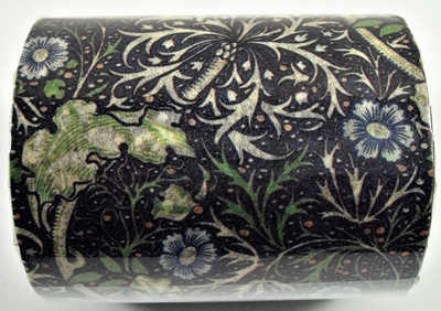 Late Vintage/Early Deco Floral Pattern Washi Tape: Style B