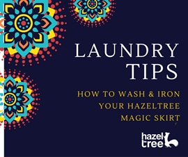 Laundry tips for washing your new skirt or dress