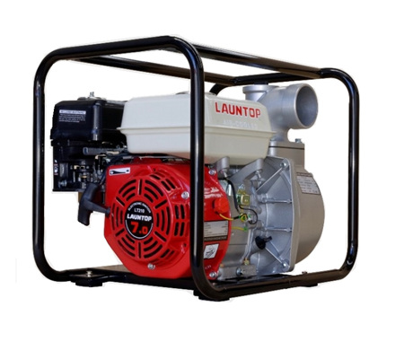 """Launtop 3"""" Water Pump 7HP Petrol Engine with Recoil Start"""