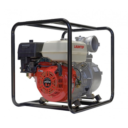"""Launtop 4"""" Water Pump 9HP Petrol Engine with Recoil Start"""