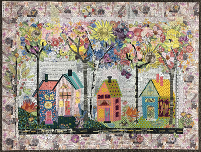 Laura Heine - Birch Street Collage