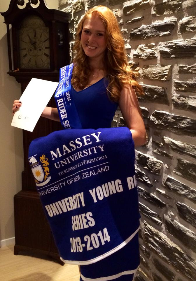 Lauren Alexander  - Young Rider Series Winner 2013/2014