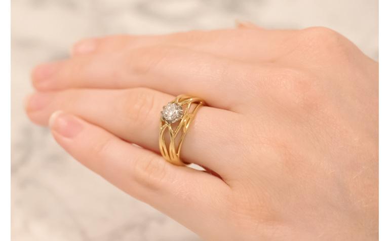 Lauren Brilliant Cut Diamond Ring