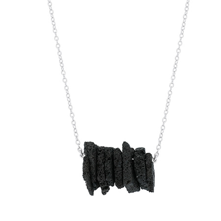 Lava Sterling Silver Necklace