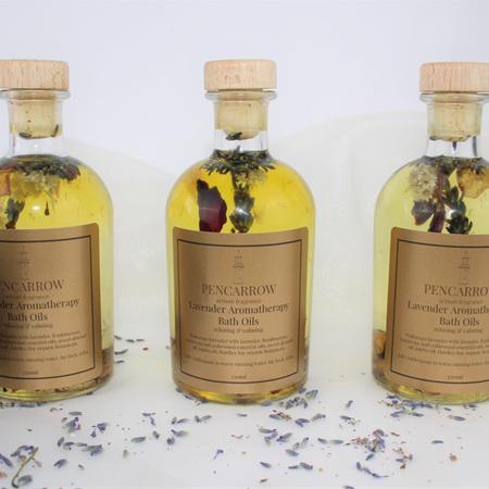 Lavender Aromatherapy Bath Oil