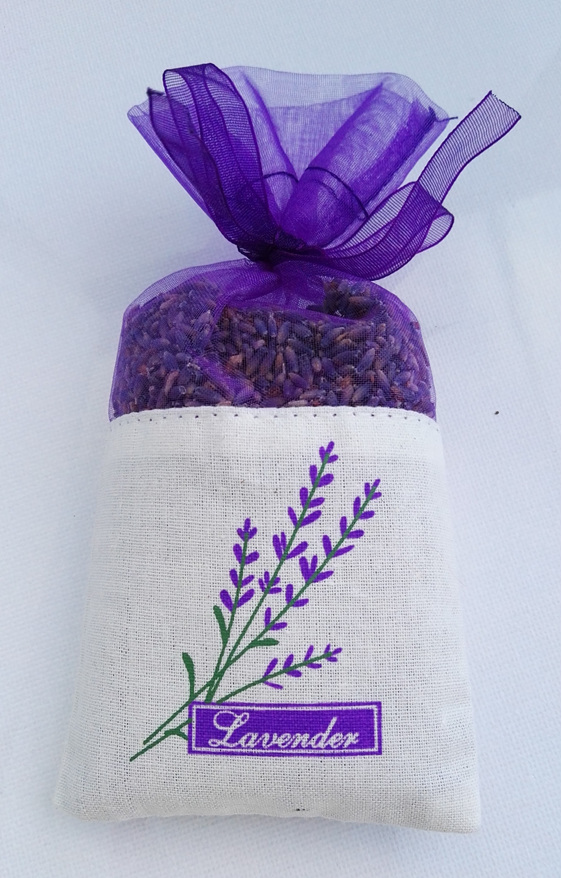Lavender Bag with Lavender seeds by lavender magic