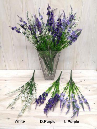 Lavender Bush  White 4206