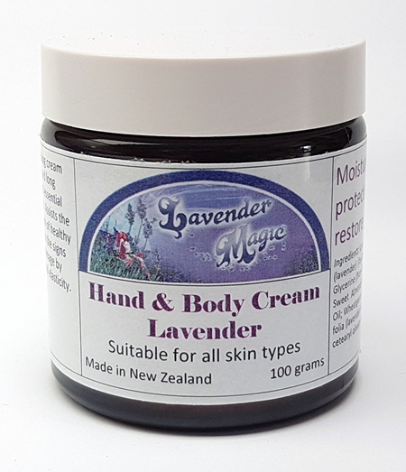 Lavender Cream - Hand & Body - Moisturising