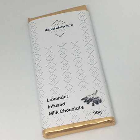 Lavender Infused Milk Chocolate - 90g