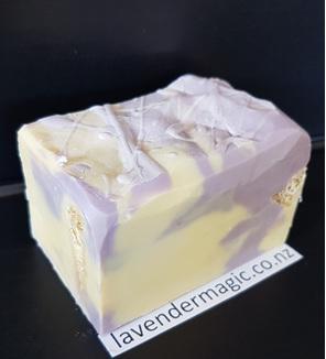 Lavender Loofah handmade soap