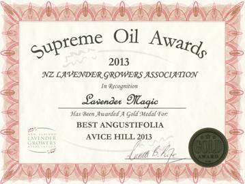 Lavender Magic Gold - Avice Hill